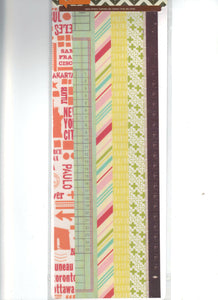 "Hello 12"" Vellum Tape Strips by Basic Grey"