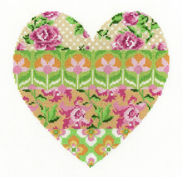 DMC - Floral Arrangement Cross Stitch Kit - BK1672
