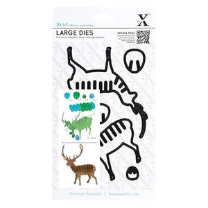 Xcut Large Dies (6pcs) - Christmas in the Country - Stag