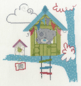 DMC - Tiny Tatty Teddy Cross Stitch Kit - Home Tweet Home