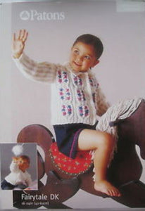 Babies and Toddlers Cardigan and Sweater Knitting Pattern - Patons 3167