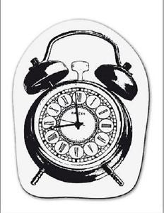 cArt-Us Clear Stamps - Small Alarm Clock