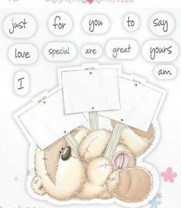 Fizzy Moon Celebrations Clear Stamp Pack - Little Messages