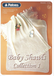 Baby Shawls Collection 1 - Patons Pattern Book 01003