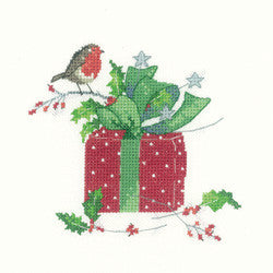 Heritage Crafts - Christmas Gift by Sue Hill Cross Stitch Kit