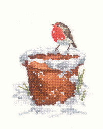 Heritage Crafts - Garden Friend by Sue Hill Cross Stitch Kit