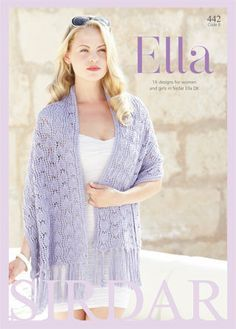 Sirdar ELLA Knitting Pattern Book 442