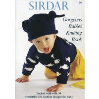 Sirdar Knitting Pattern Book 264 - Gorgeous Babies - DK