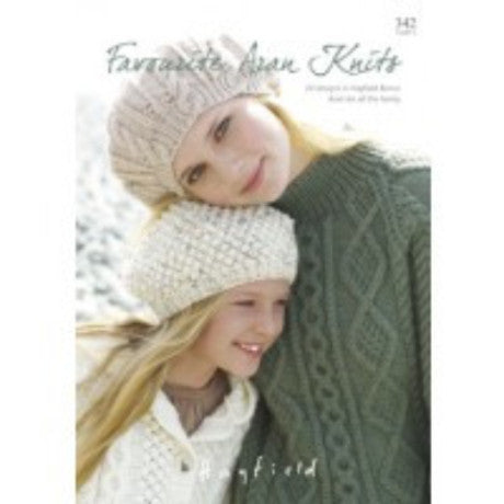 Sirdar Knitting Pattern Book 342 - Favourite Aran Knits