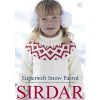 Sirdar Knitting Pattern Book 427 - Children - Supersoft Snow Patrol - Aran