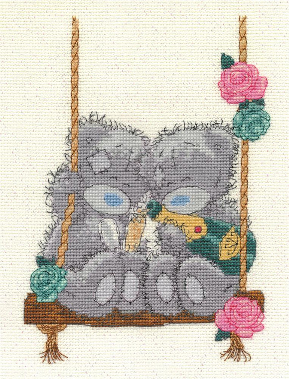 DMC - Tatty Teddy - Let's Celebrate Cross Stitch Kit - BL1080