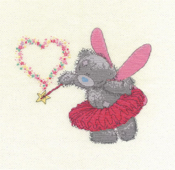 DMC - Tatty Teddy - Pink Fairy Cross Stitch Kit - BL1071/72