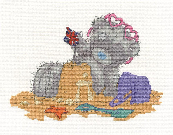 DMC - Tatty Teddy - On Holiday Cross Stitch Kit - BL1079