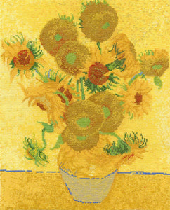DMC - National Gallery - Van Gogh's Sunflowers Cross Stitch Kit - BL1063/71