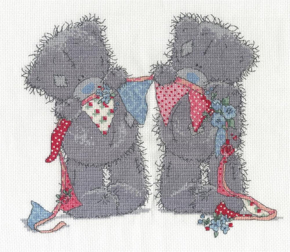 DMC - Tiny Tatty Teddy - Bunting Bears Cross Stitch Kit BL1132/72