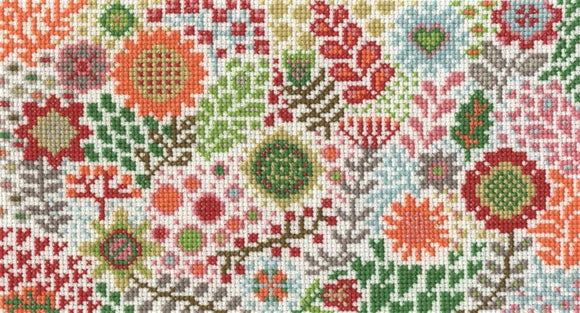 DMC - Blossoming Buds Cross Stitch Kit