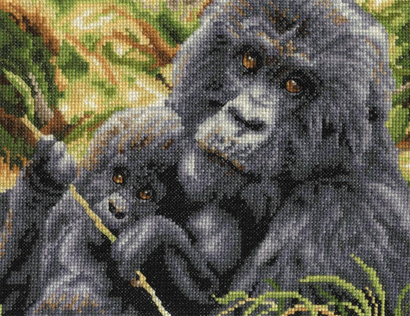 Maternal Instinct - DMC Cross Stitch Kit