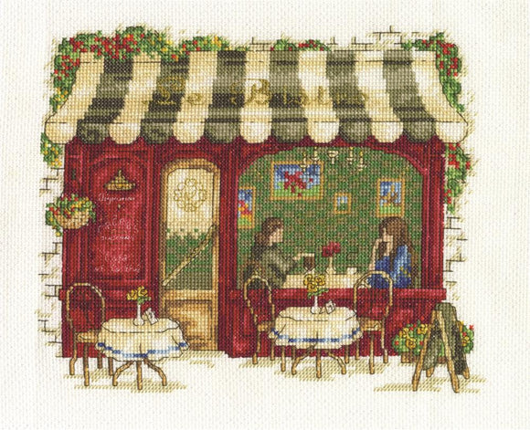DMC - Le Bistro Cross Stitch Kit - BK1670