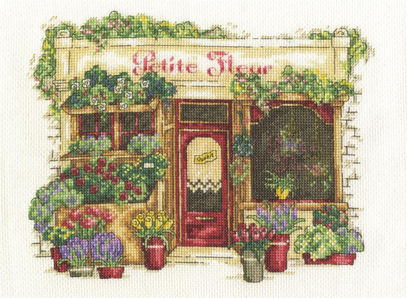 Le Fleuriste - DMC Cross Stitch Kit