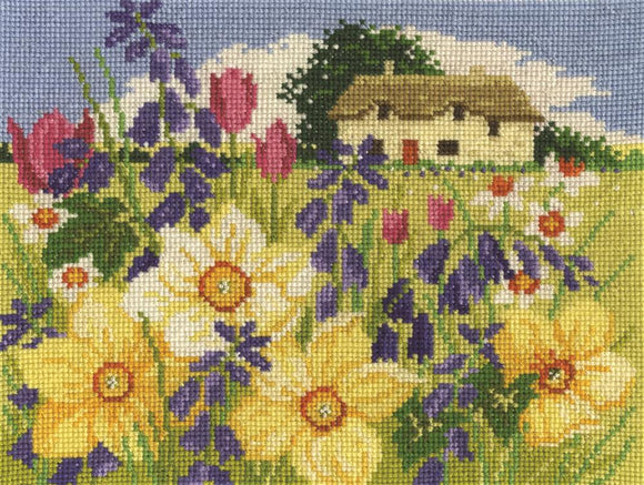 DMC - Spring Bloom Cross Stitch Kit - BK1676