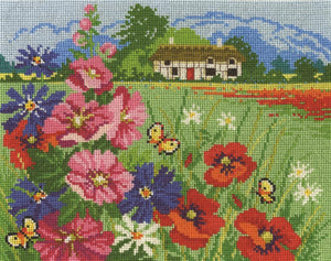 DMC- Summer Meadow Cross Stitch Kit - BK1677