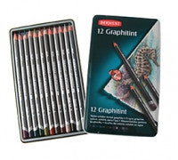 Derwent Graphitint Pencil -  Tin of 12