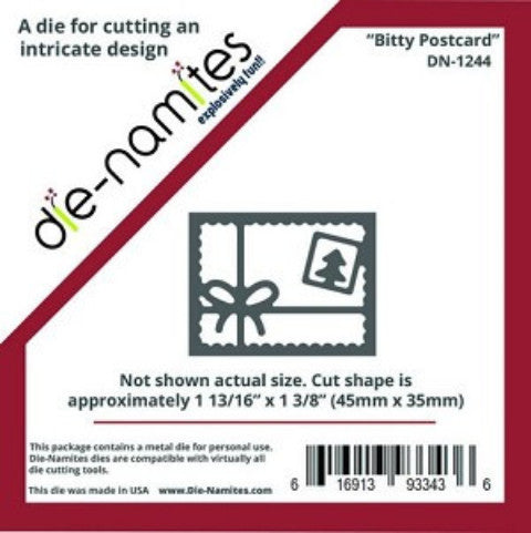 Bitty Postcard Die by Die-Namites