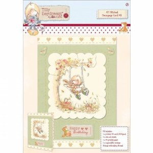 Stitched Decoupage Card Kit A5 – Tilly Daydream
