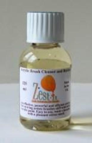 Zest-It Acrylic Brush Cleaner 125ml