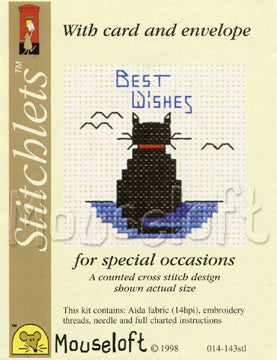 Stitchlets Occasions - Mini Cross Stitch Card Kits By Mouseloft