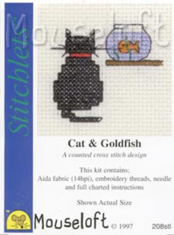 Stitchlets Mini Cross Stitch Kits By Mouseloft