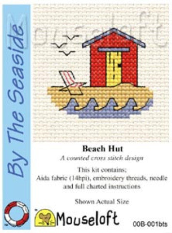 By the Seaside Mini Cross Stitch Kits By Mouseloft