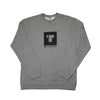 Block Print Crew Neck Grey