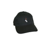 Match Stick Hat Black