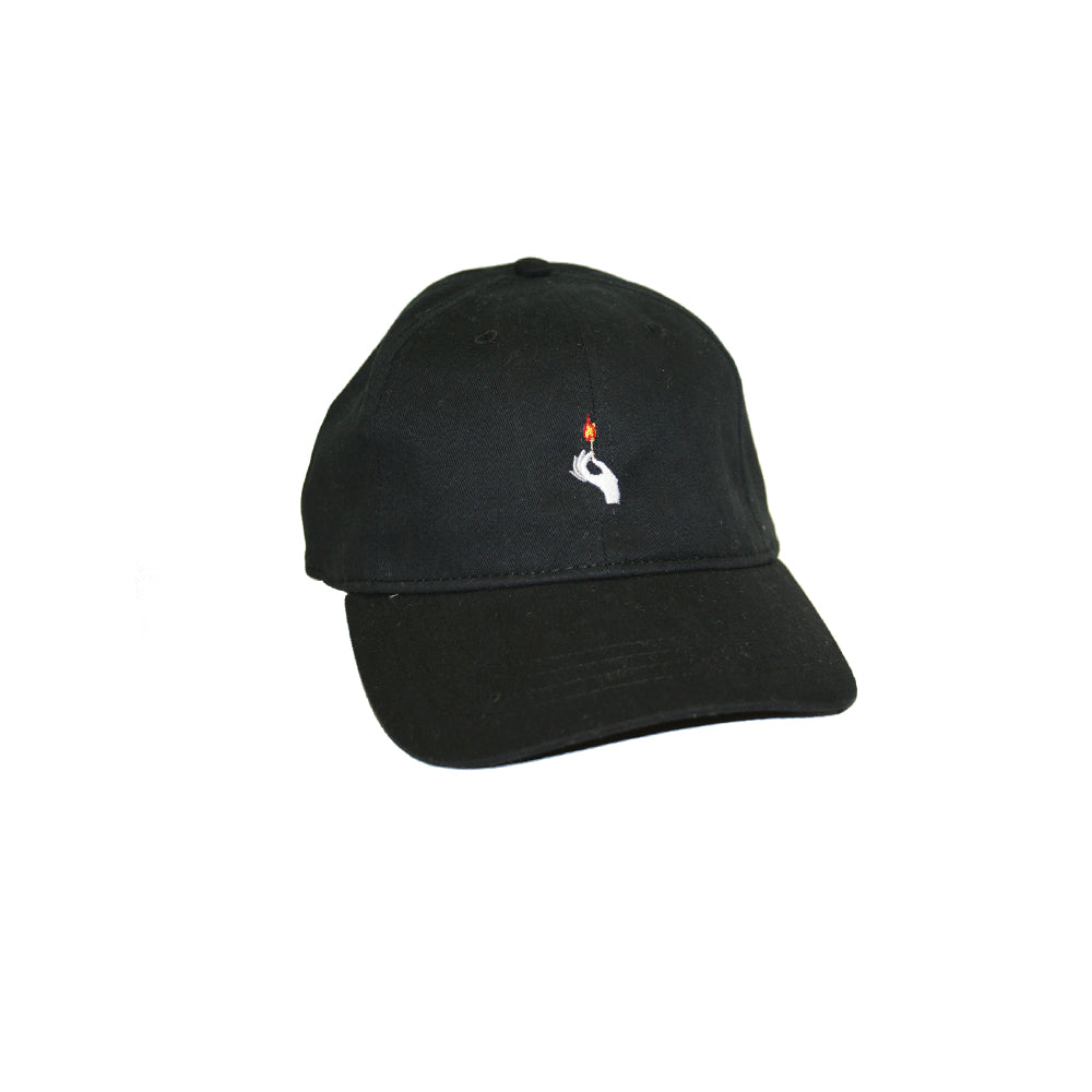 Match Stick Hat Black One T Apparel