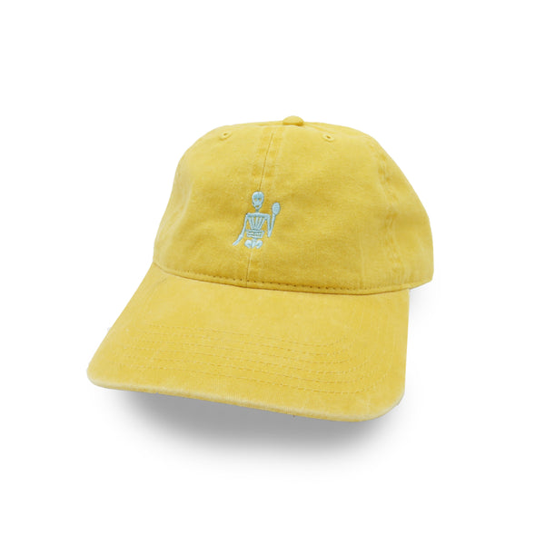 Chain Gang Dad Hat Vintage Yellow