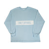 Panel Long Sleeve Tee Blue