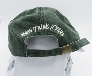 Chain Gang Dad Hat Vintage Green