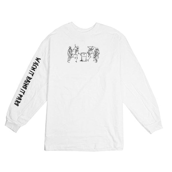 Never Lay Up Long Sleeve White