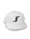 Two Way Unstructured Snap Back White