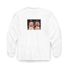Collab Long Sleeve White