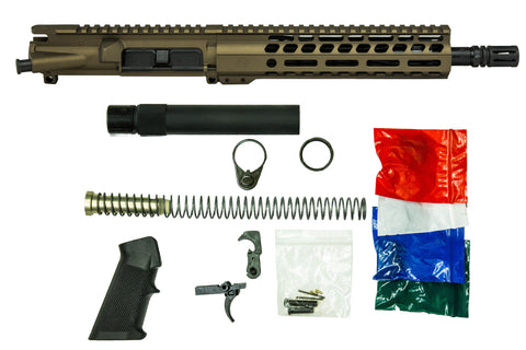 "7.5"" 5.56mm with 7"" M-Lok Pistol Kit Burnt Bronze"