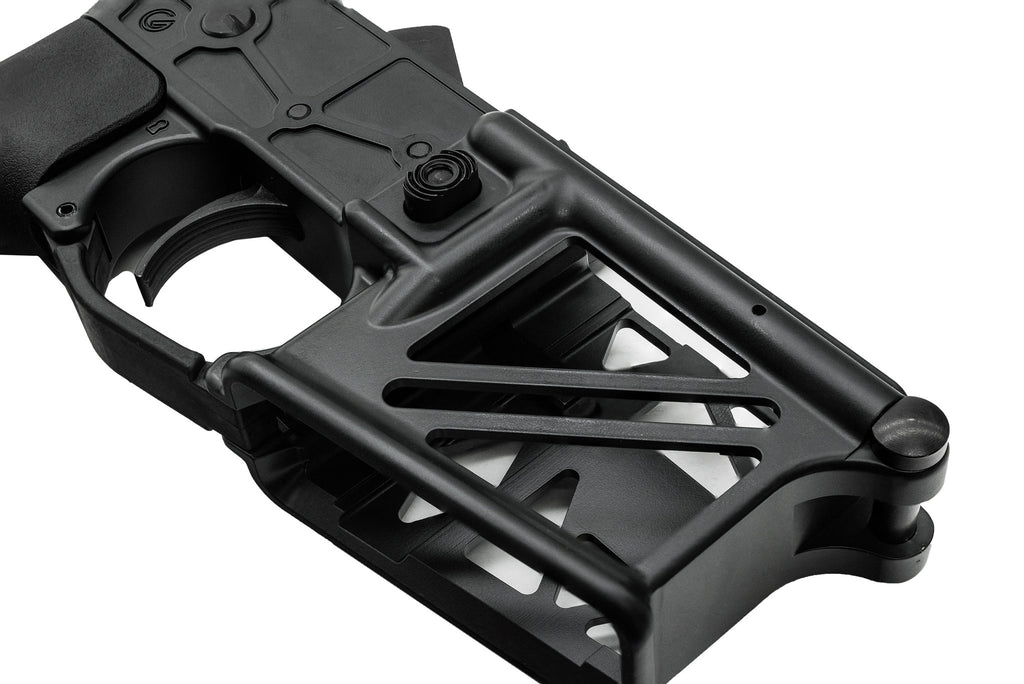 Ghost Complete Rifle Skeletonized Lower Receiver