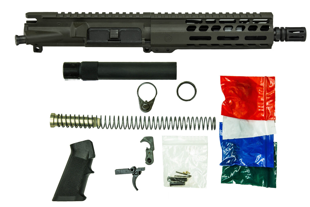 "7.5"" 300 Blackout with 7"" M-Lok Pistol Kit OD Green"