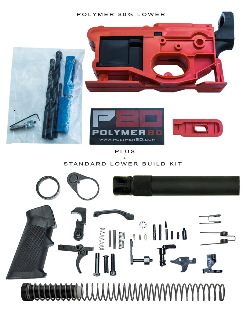 Polymer80 G150 Lower + Complete Pistol Parts Kit