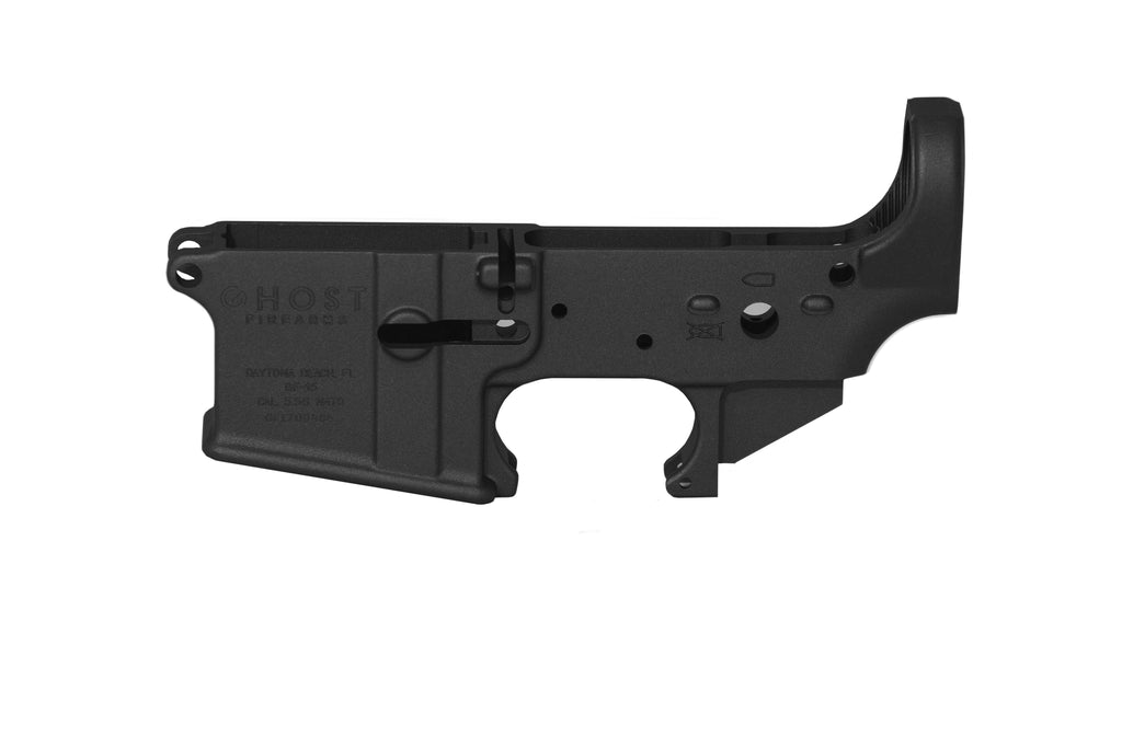 Ghost Stripped Lower Receiver - Black