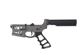Ghost Complete Rifle Skeletonized Lower Receiver W/ Skeletonized Grip - FDE