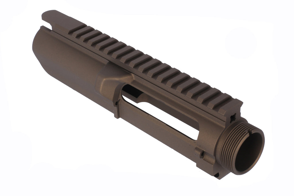 Grid Defense GF-10 Stripped Upper Receiver - Burnt Bronze