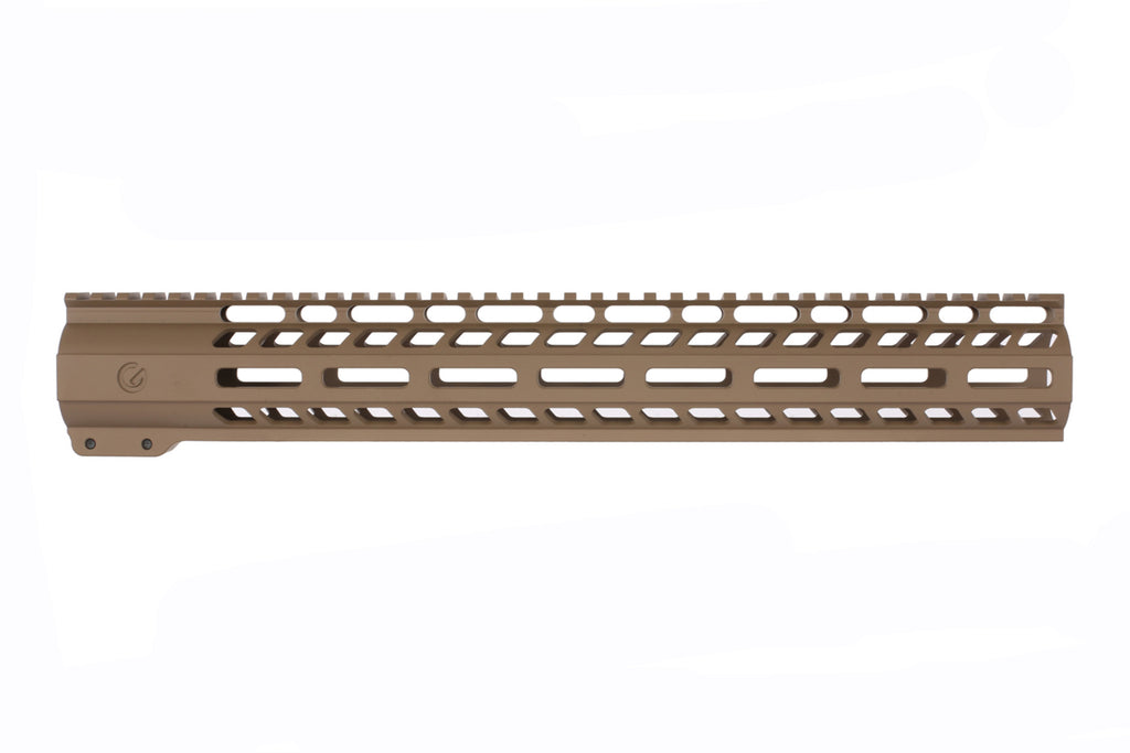 "Ghost Firearms AR10 15"" M-Lok Rail FDE"