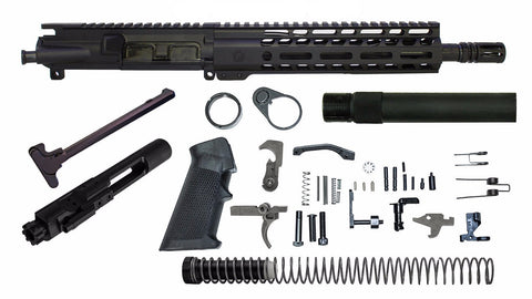 "16"" 5.56mm with 14"" M-Lok Rifle Kit - Tungsten Gray"